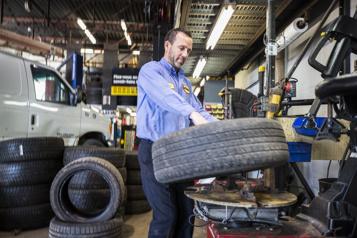 Prêt pour l'hiver  L'automobile enquestions: pénurie de pneus