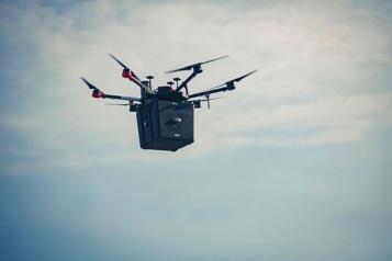 Des poumons transportés à Toronto par drone avant une greffe