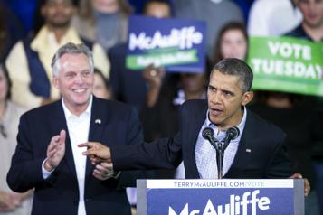 Barack Obama fait campagne en Virginie pour soutenir Terry McAuliffe