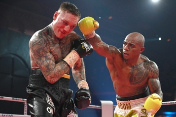 Super-lourds-légers de la WBC Óscar Rivas sacré champion du monde