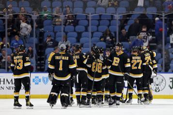 Victoire de 4-1 des Bruins à Buffalo