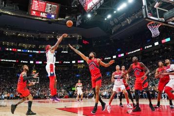 Les Wizards gâchent le retour des Raptors à Toronto