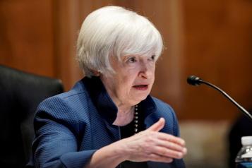 Inflation aux États-Unis Retour à un niveau normal au second semestre2022, selon Yellen