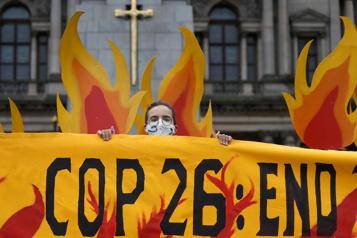 Réchauffement planétaire Tension, angoisse et craintes d'échec avant la COP26