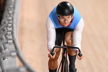 Cyclisme sur piste Un premier top-10 pour Hugo Barrette