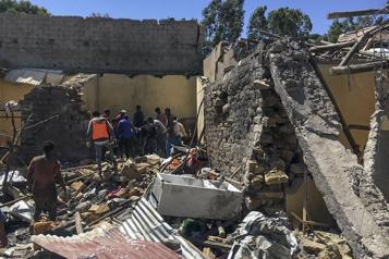 Éthiopie Dix morts dans une frappe aérienne au Tigré