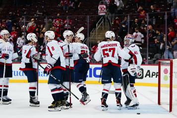 Les Capitals signent une victoire de 4-1 contre les Devils