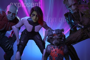 Marvel's Guardians of the Galaxy Solides, les gardiens ★★★★★