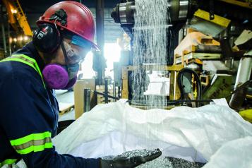 Aluminium Des tonnes d'aluminium récupéré quittent le Québec