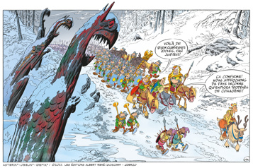 Astérix et le Griffon Plein d'esprit
