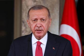 Le Canada visé Erdogan menace d'expulser 10 ambassadeurs après leur soutien d'un opposant