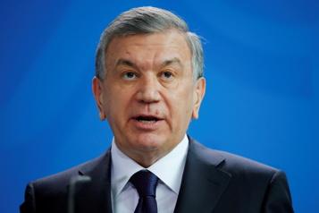 Le président de l'Ouzbékistan réélu avec 80% des voix