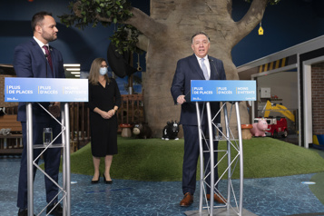 Services de garde Québec se donne quatre ans pour ajouter 37000 places