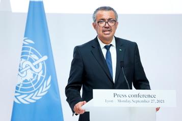 Mettre fin à la pandémie est «un choix», dit le chef de l'OMS