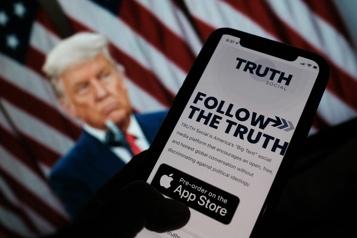 WallStreet L'entreprise qui doit fusionner avec le réseau social de Trump s'envole