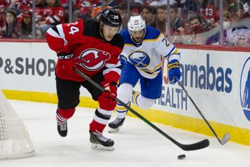 Les Sabres s'inclinent 2-1 face aux Devils