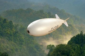 Dirigeables-cargos Flying Whales veut relancer ses projets au Québec