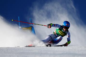 Slalom géant de Sölden Mikaela Shiffrin gagne la première course de la saison