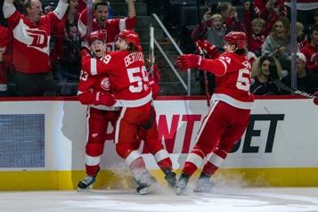 Les Red Wings de Detroit en visite à Montréal Une autre équipe jeune et affamée!
