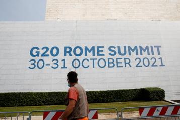 Sommet du G20 à Rome Le chemin d'une relance verte etéquitable