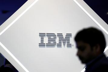 IBM déçoit un peu au troisième trimestre