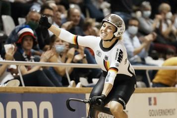 Lauriane Genest quatrième L'Allemande Hinze reine de la vitesse après avoir vaincu la Canadienne Mitchell