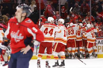 Victoire des Flames4-3 face aux Capitals