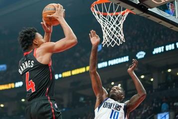 Les Raptors battus 103-95