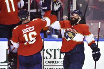 Une autre victoire pour les Panthers, qui battent les Bruins4-1