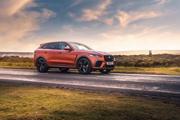Essai routier  Jaguar F-Pace: émerger de l'oubli