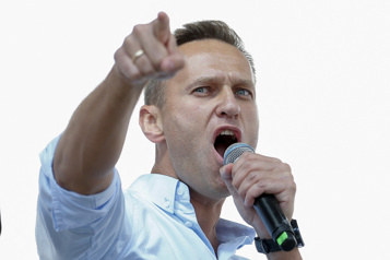Alexeï Navalny «honoré» d'avoir reçu le prix Sakharov