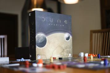 Dune Imperium L'esprit de Dune dans un jeu de société