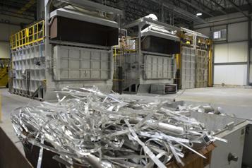 Shawinigan Aluminium Des rebuts transformés enbillettes