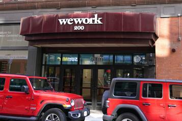WeWork bien accueilli pour son entrée à WallStreet