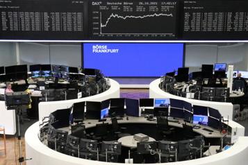 Les craintes sur la croissance rattrapent les Bourses européennes