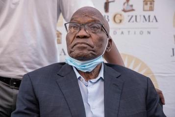 Afrique du Sud Première apparition publique de Zuma depuis sa libération