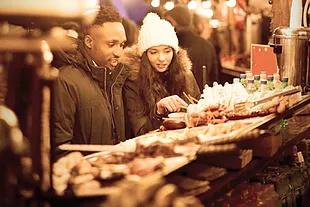 Montebello Un Marché de Noël intérieur et extérieur