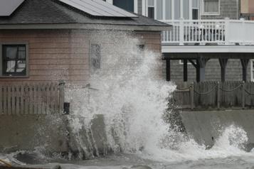 Tempête côtière Plus de 600000 foyers privés d'électricité en Nouvelle-Angleterre