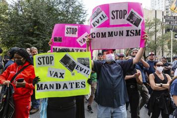 À NewYork, les pompiers manifestent contre le vaccin obligatoire
