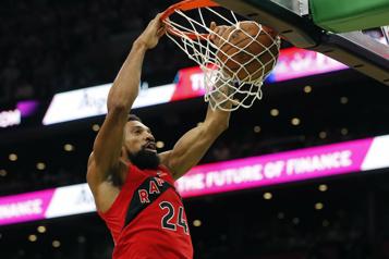 Les Raptors remportent une victoire convaincante face aux Celtics