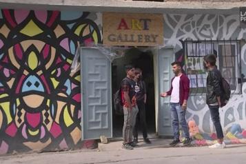 Tadjikistan En exil, des artistes afghans dessinent pour ceux qui ne le peuvent plus