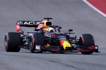 Grand Prix des États-Unis Max Verstappen partira en tête