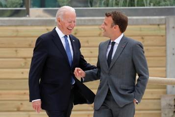 Nouvel appel Biden et Macron continuent de restaurer leurs relations
