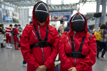 Halloween Des écoles bannissent le costume Squid Game