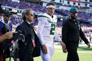 Jets Zach Wilson souffrirait d'une blessure ligamentaire