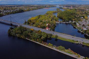 Berge de la rivière des Prairies Un projet citoyen défiant Hydro-Québec reçoit l'appui du fédéral