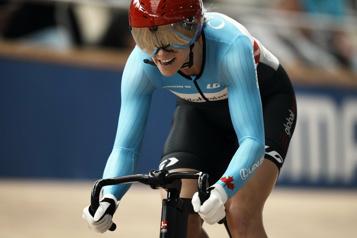 Mondiaux de cyclisme sur piste Kelsey Mitchell se classe cinquième au keirin